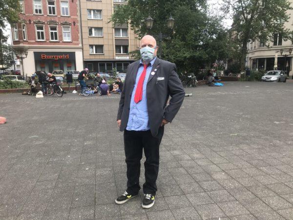 Heiko Schubert, Vorsitzender der PARTEI Duisburg; Foto: Peter Ansmann